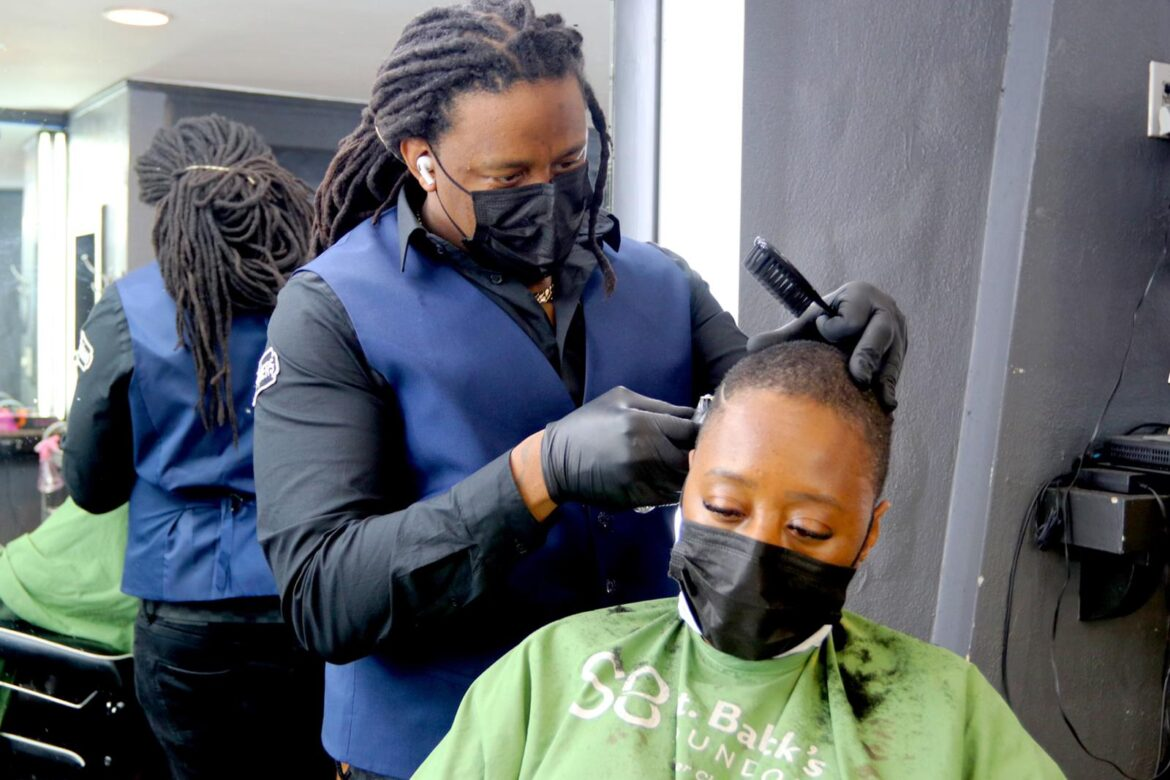 Tavion Maultsby AKA Tee The Barber Is Not Your Average Barber, But Also An Entrepreneur And Mentor On Business