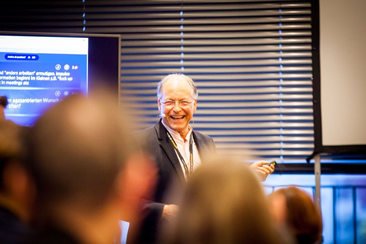 Swiss Top Executive Mentor Heinz Kaegi Shares Why Exceptional Leaders Lead From The Heart